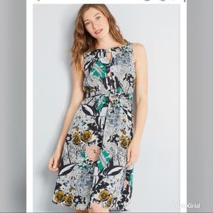 ModCloth x Dupenny Flaunts and Needs Chiffon Dress